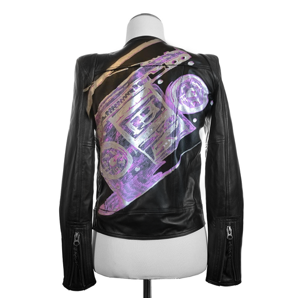 Custom Moto Jacket - Jennifer Haley Handbags