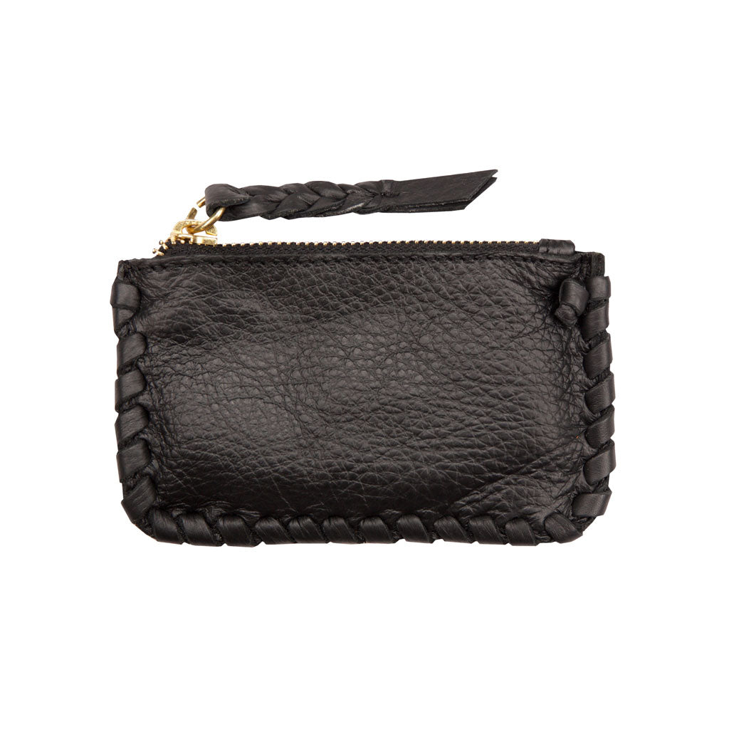 Jennifer Haley - Stitched Coin Purse - Jennifer Haley Handbags