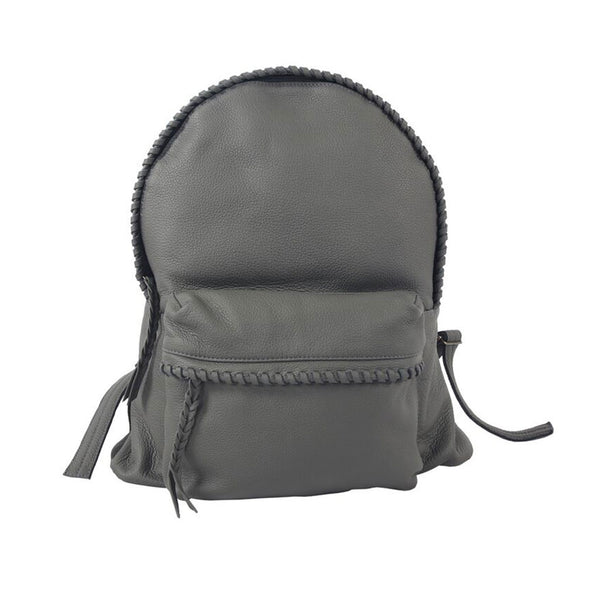 Jennifer Haley - Stitched Backpack - Jennifer Haley Handbags