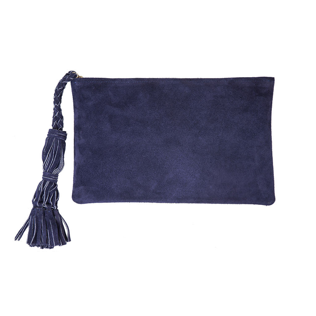 Jennifer Haley - Tasseled Clutch - Jennifer Haley Handbags