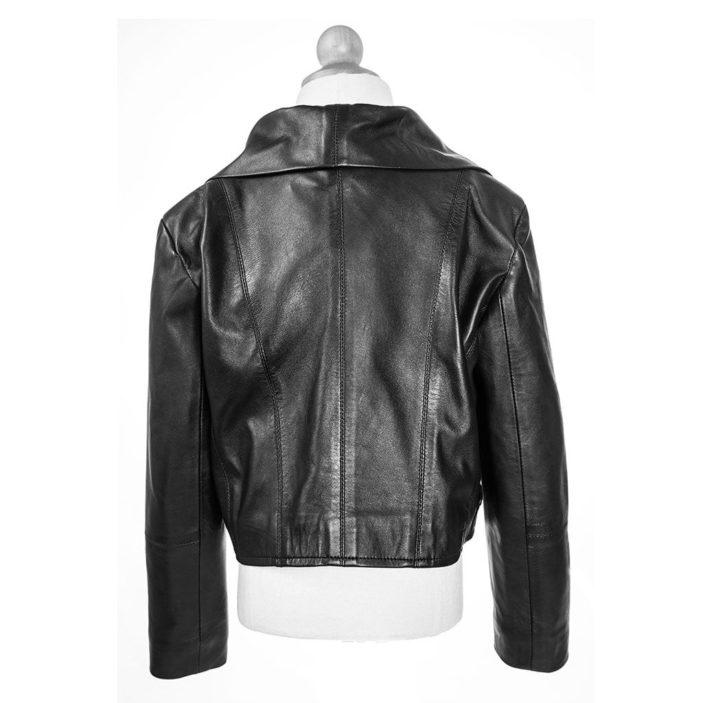 Zoey Rae Leather Jacket - Jennifer Haley Handbags