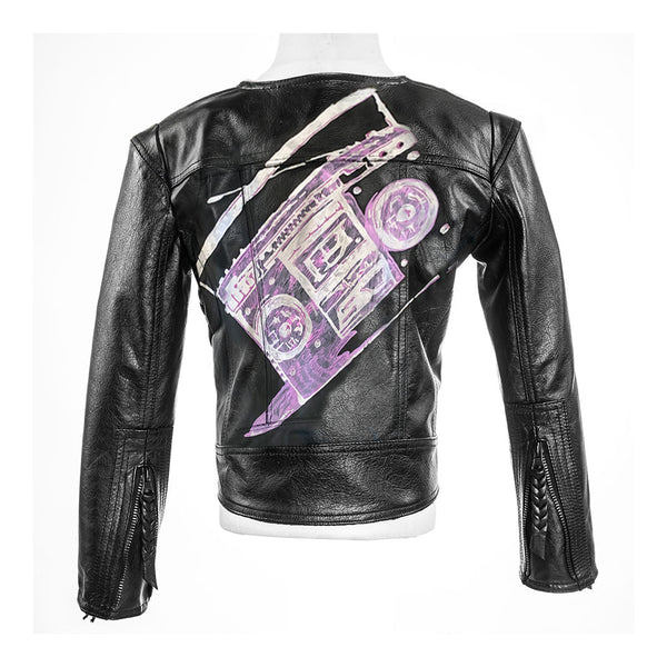 Custom Zoey Rae Moto Jacket - Jennifer Haley Handbags