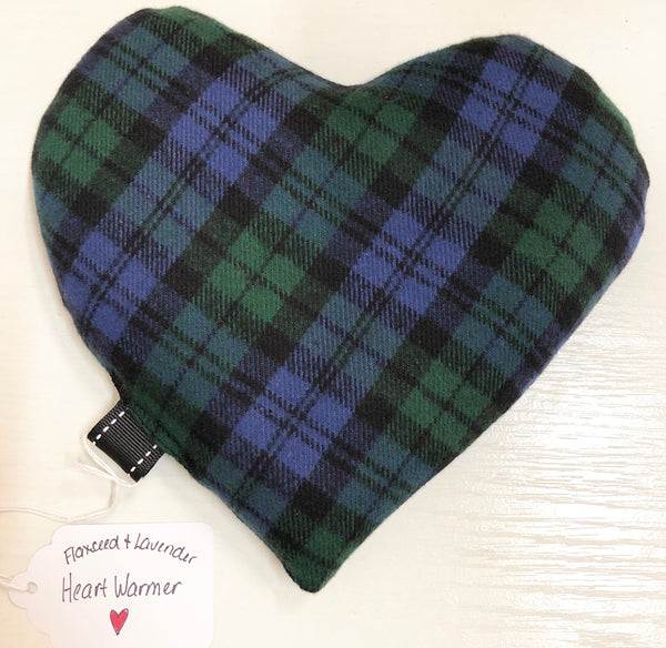 Flaxseed & Lavender Heart Warmers - Jennifer Haley Handbags