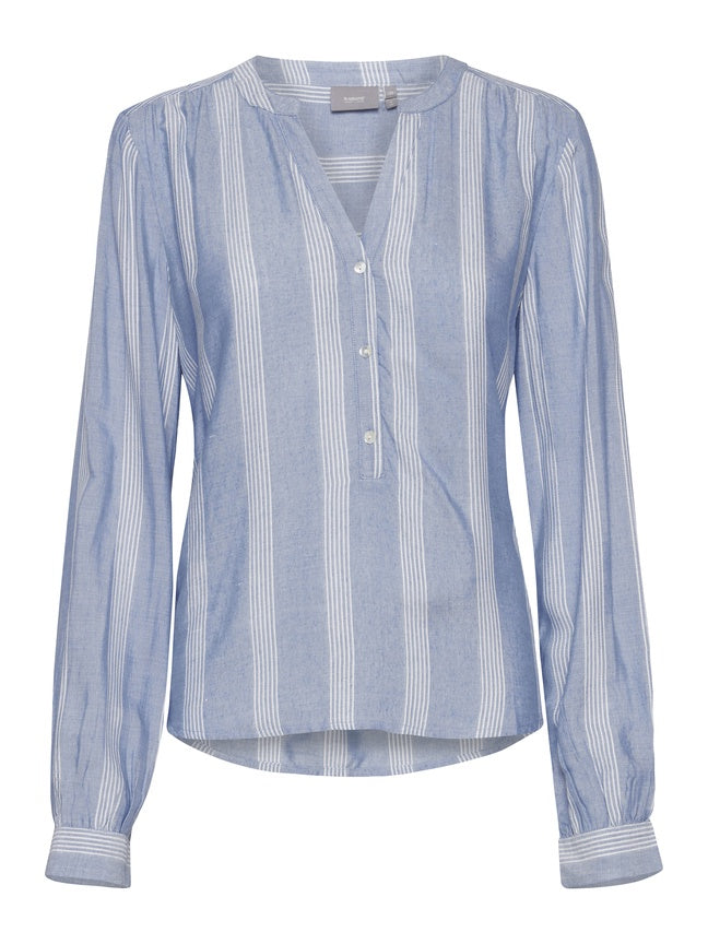 Ivy Sky Blue Stripe Shirt