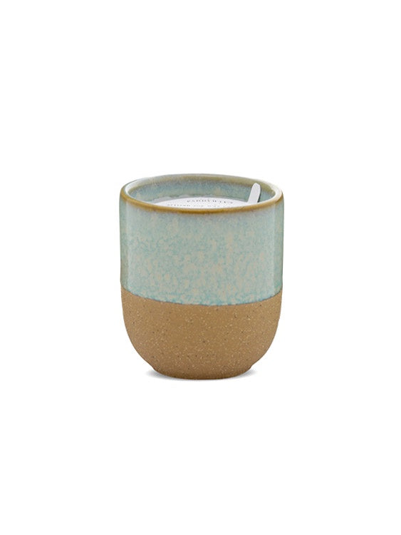 Kin 4oz Ceramic Candle - Matcha Tea & Bergamot