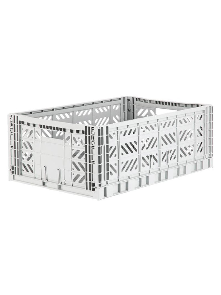 Storage Crate Large - Light Grey