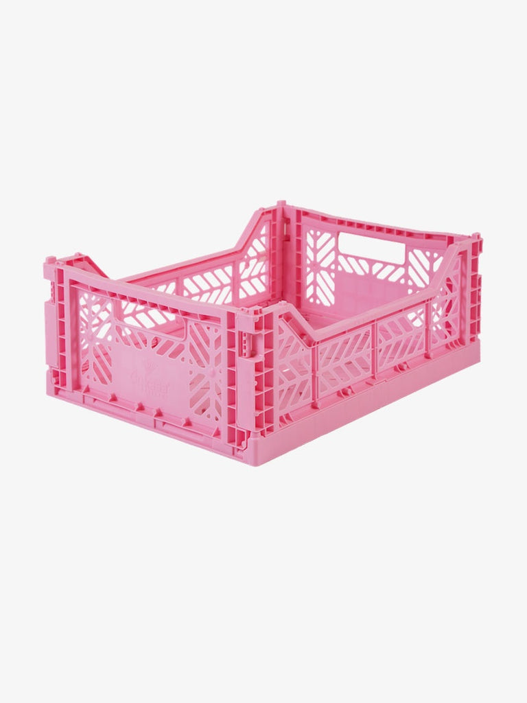 Storage Crate Medium - Baby Pink