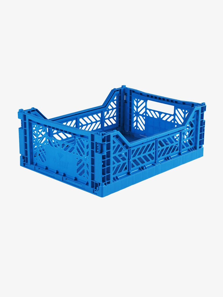 Storage Crate Medium - Electric Blue