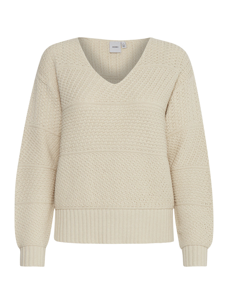 Laluha Cream Knitted Jumper
