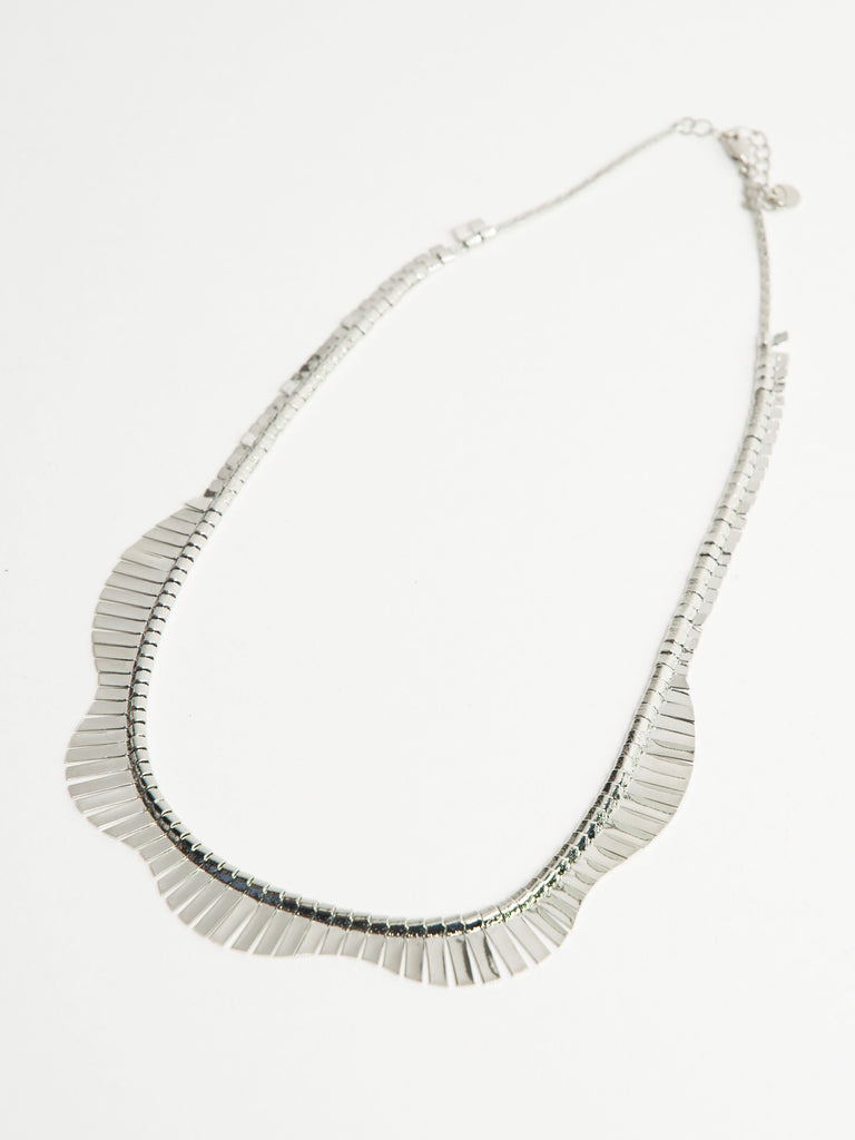 Claire slinky statement necklace