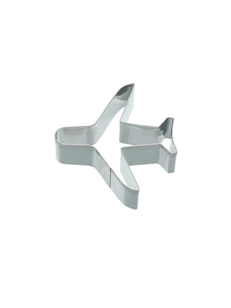 Aeroplane Shaped Cookie Cutter 9cm - Car & Kitchen