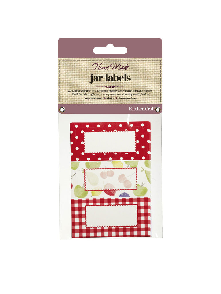 Jar Labels - Orchard