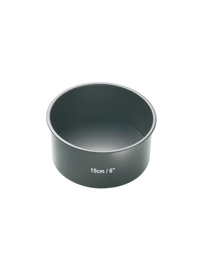 Loose Base Deep Round Cake Pan 15cm - Car & Kitchen