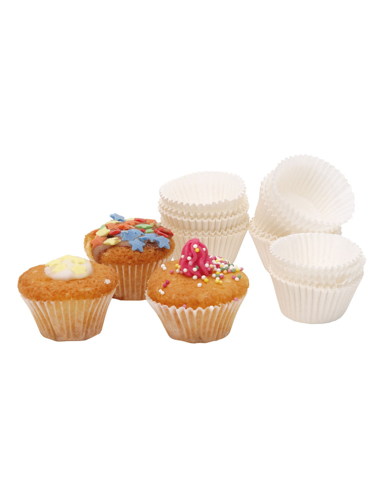 Pack of 100 Paper Petit Fours Cases - Car & Kitchen