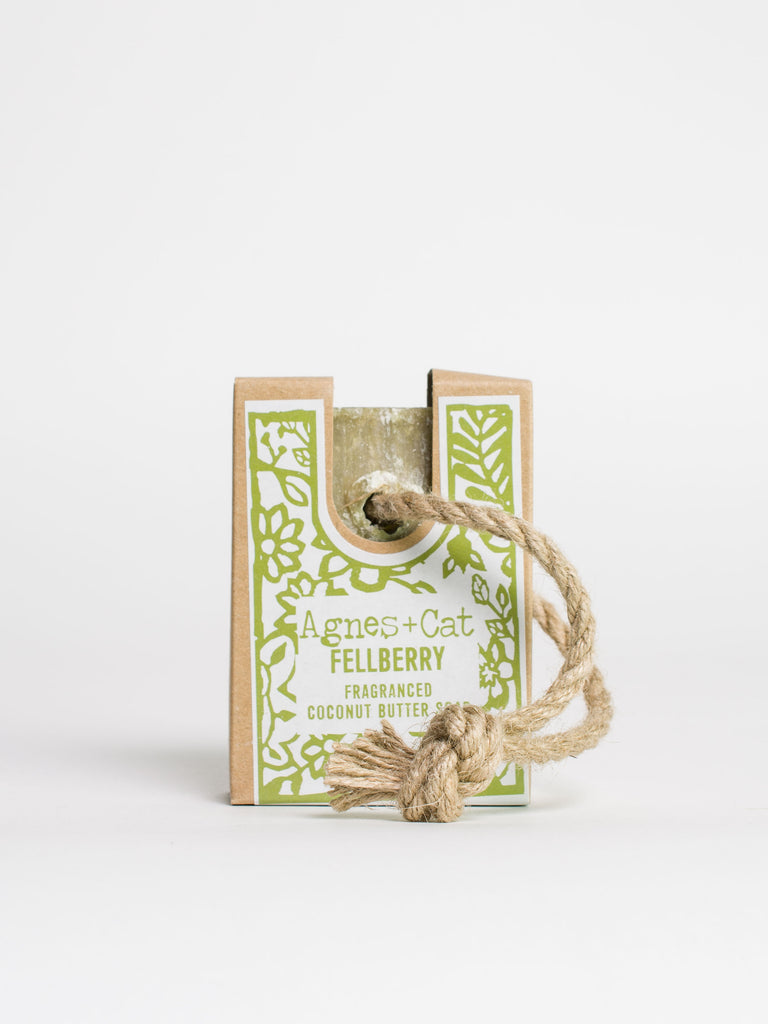 Fellberry Soap on a Rope - Car & Kitchen