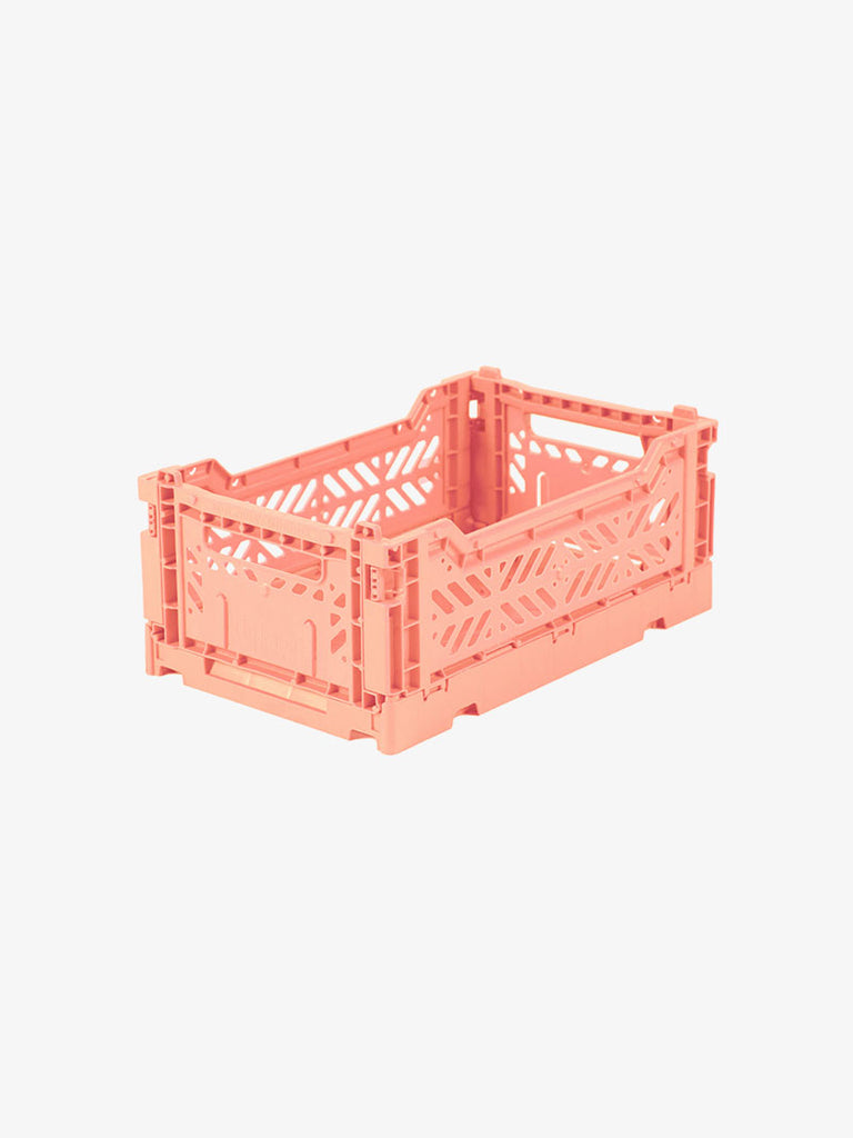 Storage Crate Small - Salmon