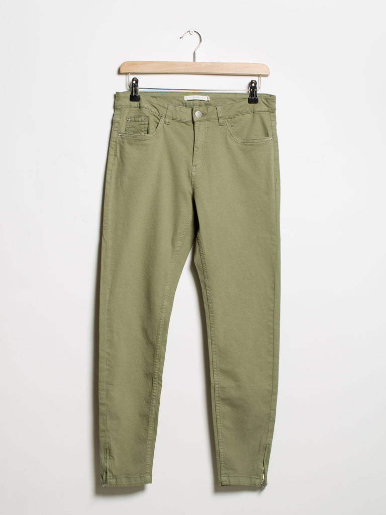 Lola Likke Jeans- Khaki - Car & Kitchen