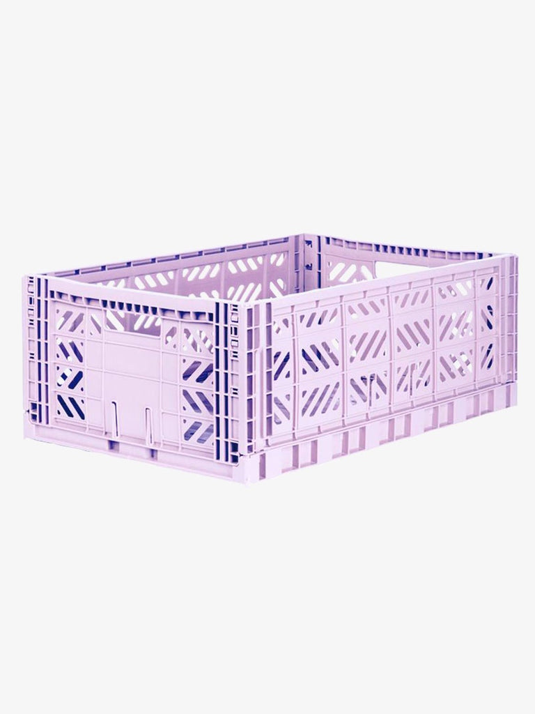 Storage Crate Large - Orchid