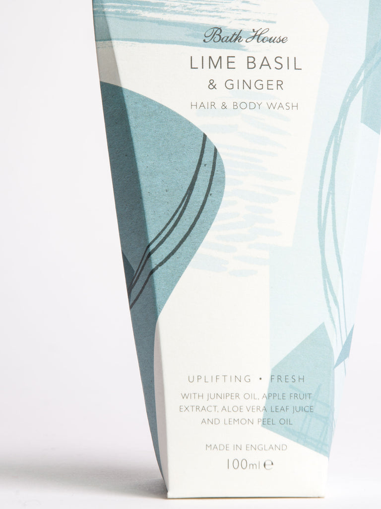 Lime Basil & Ginger Body Wash