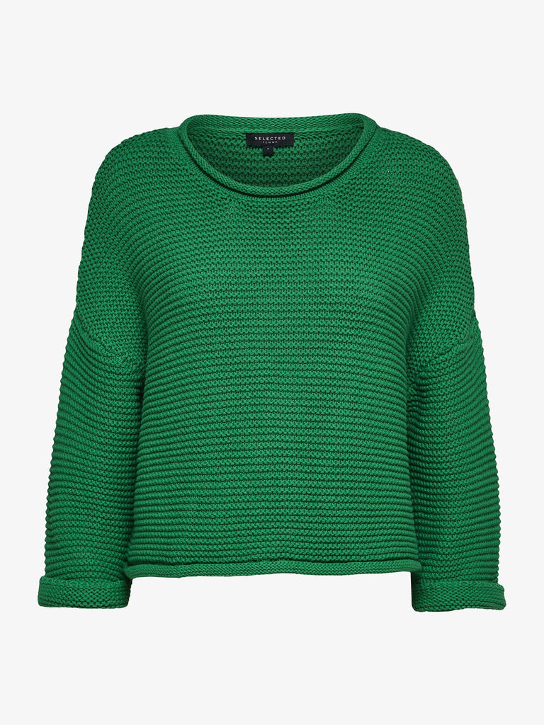 Emerald Green Camille 3/4 Knit