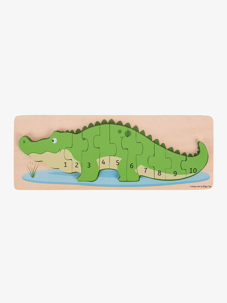 Crocodile Number Puzzle
