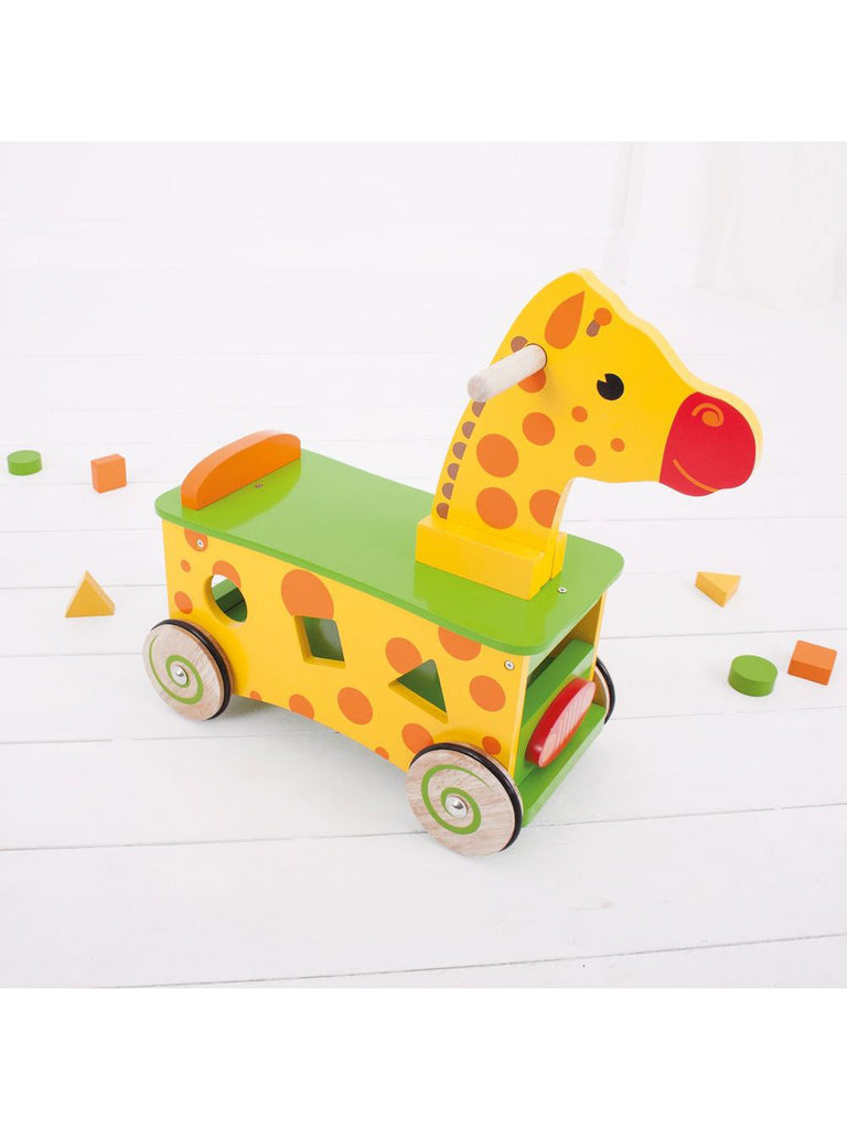 Ride On Giraffe - Car & Kitchen
