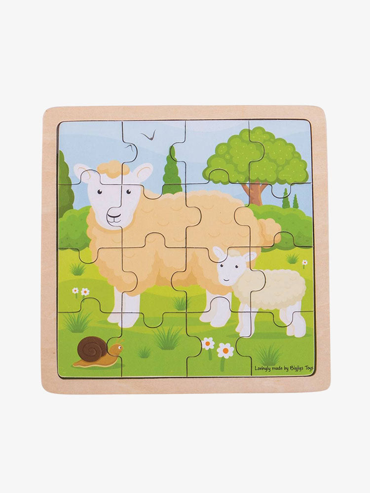 Sheep And Lamb Puzzle