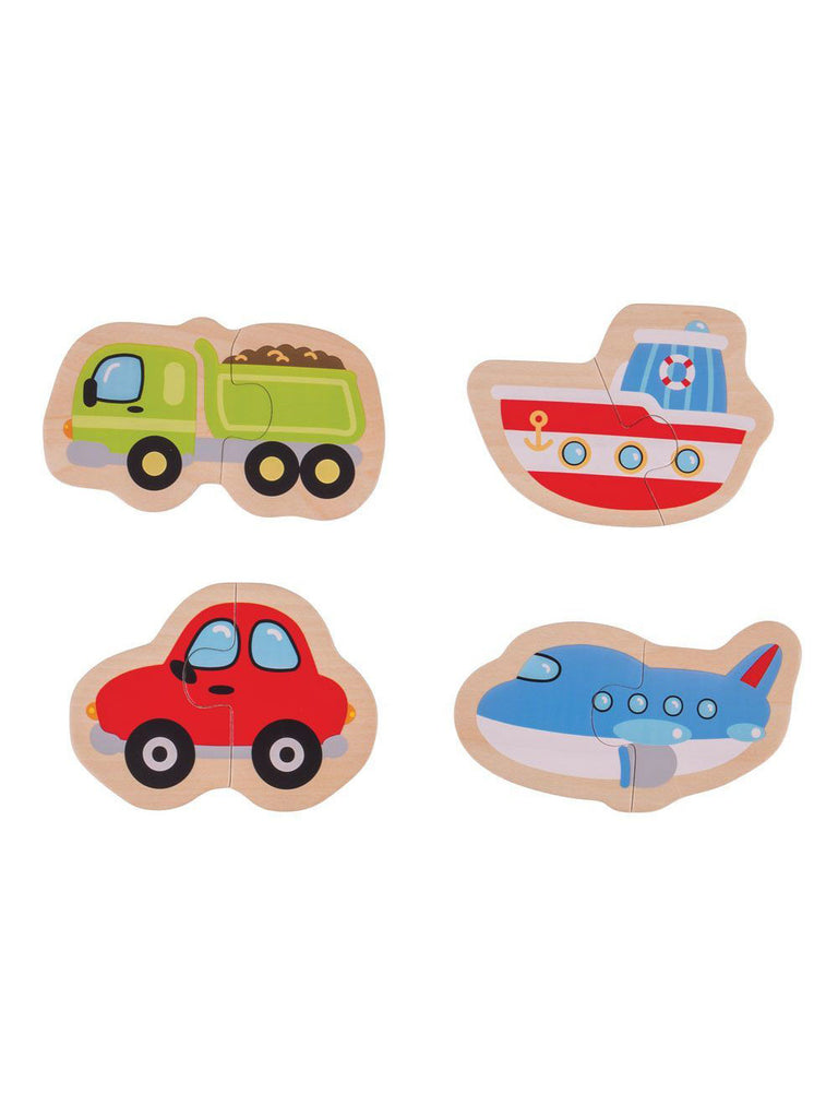 Two Piece Puzzle Transport - Car & Kitchen