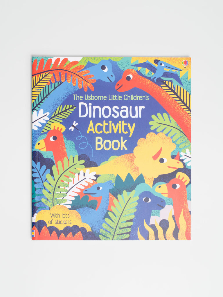 Dinosaur Activity Book - Car & Kitchen