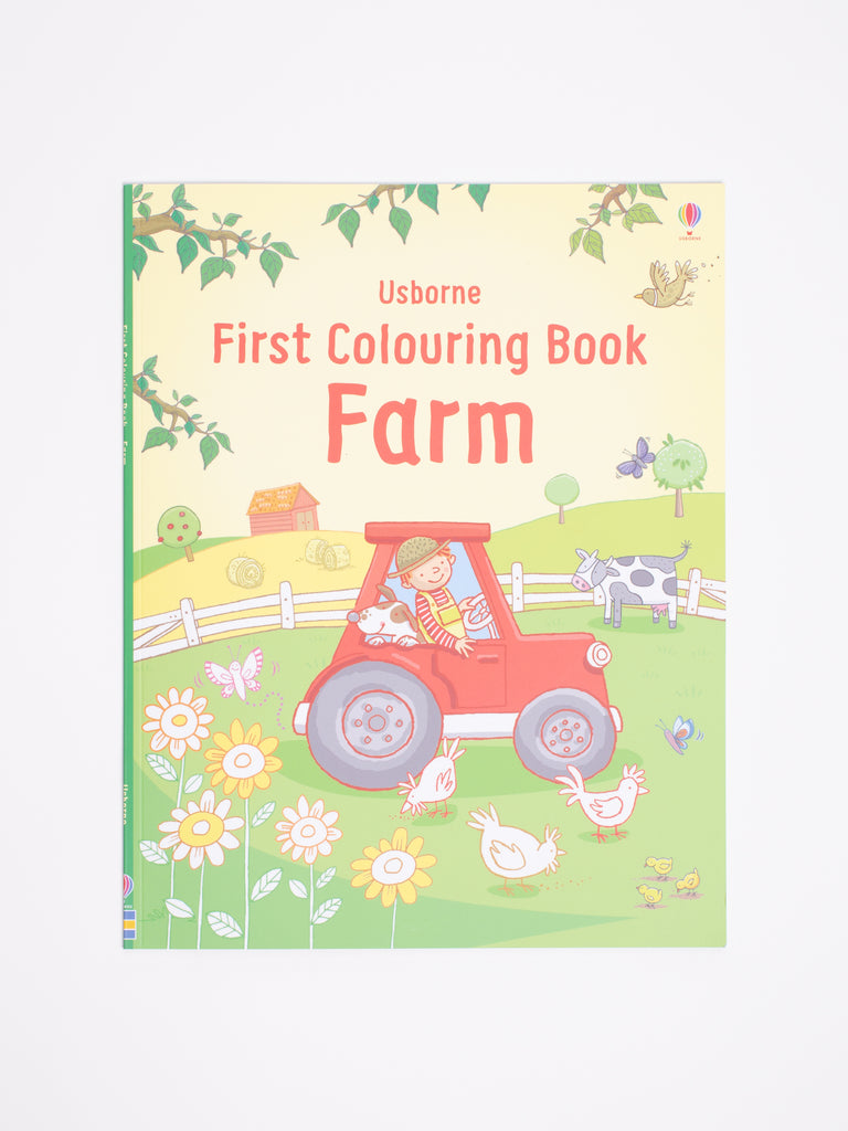 First Colouring Book - Farm - Car & Kitchen