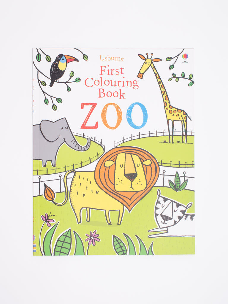 First Colouring Book - Zoo - Car & Kitchen