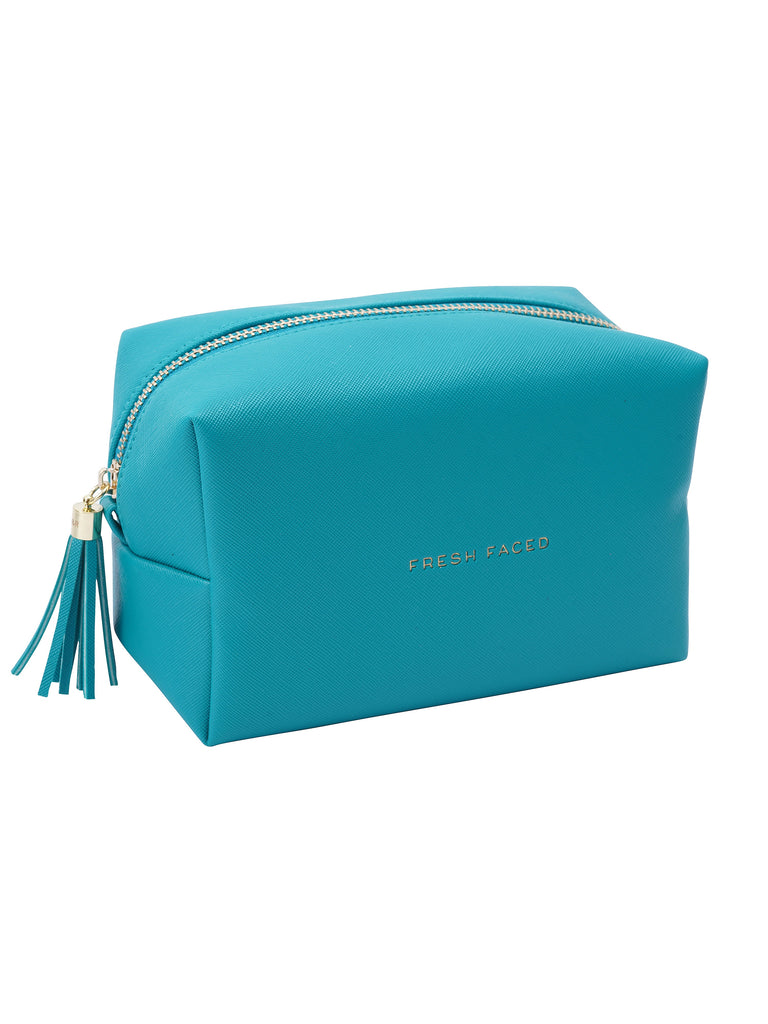 'Fresh Faced' Turquoise Bag
