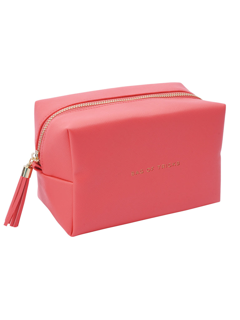 'Bag Of Tricks' Coral Pink Bag