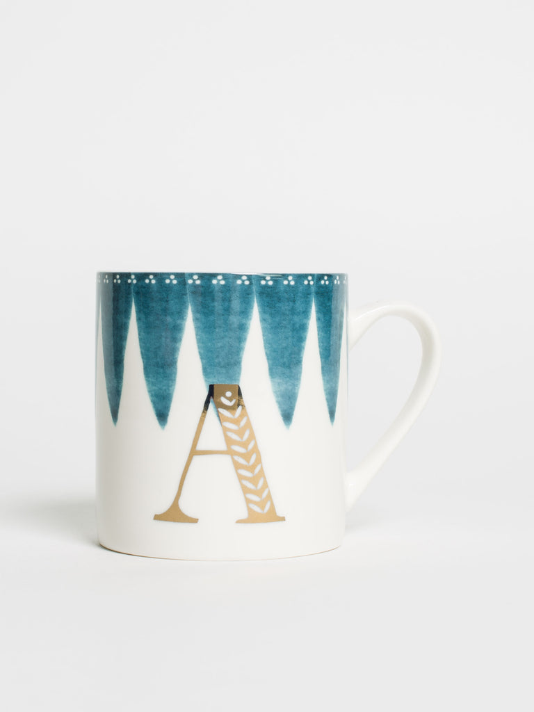 Alphabet Can Mug A - Car & Kitchen