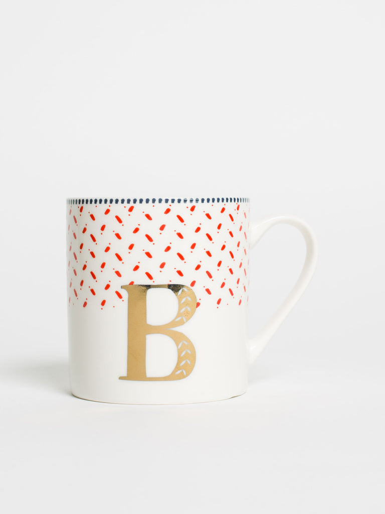 Alphabet Can Mug B - Car & Kitchen