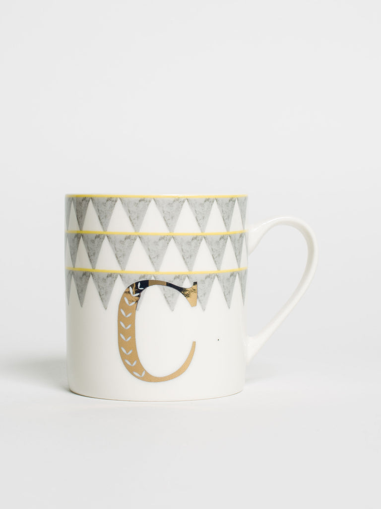 Alphabet Can Mug C - Car & Kitchen
