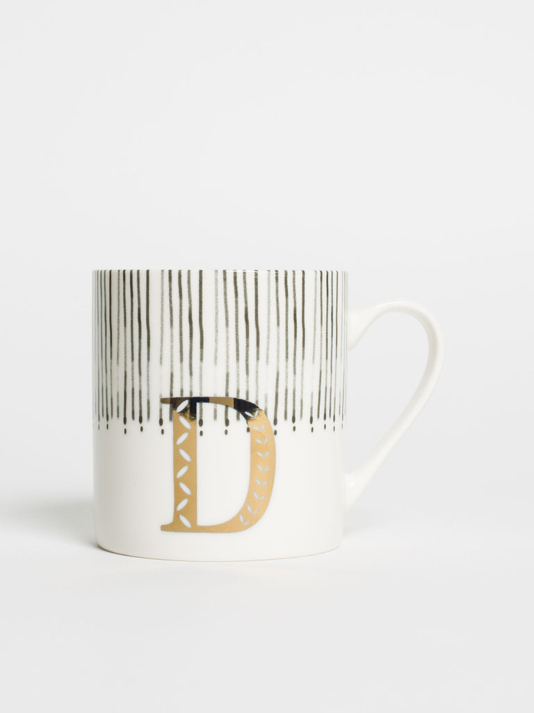 Alphabet Can Mug D - Car & Kitchen