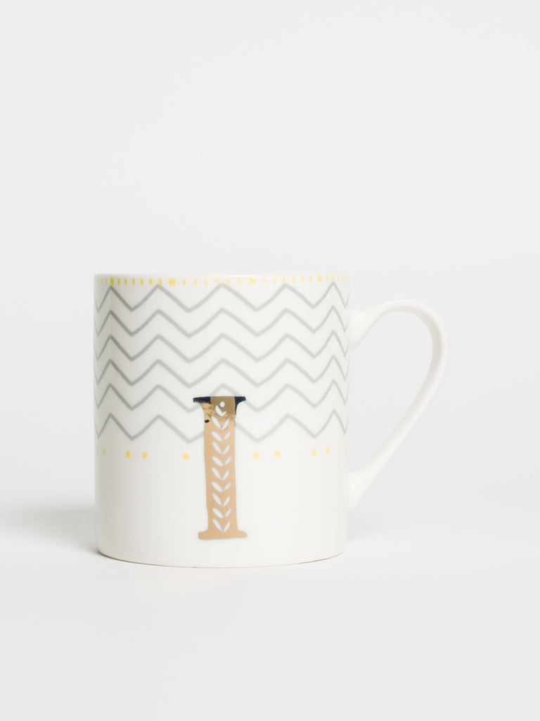 Alphabet Can Mug I - Car & Kitchen