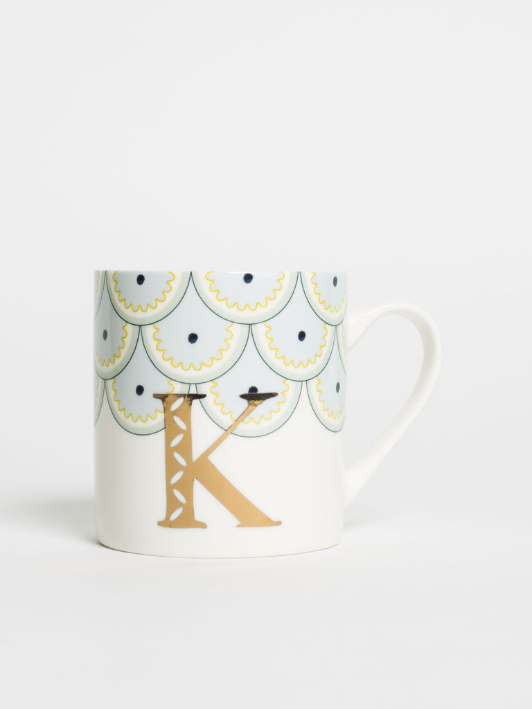 Alphabet Can Mug K - Car & Kitchen