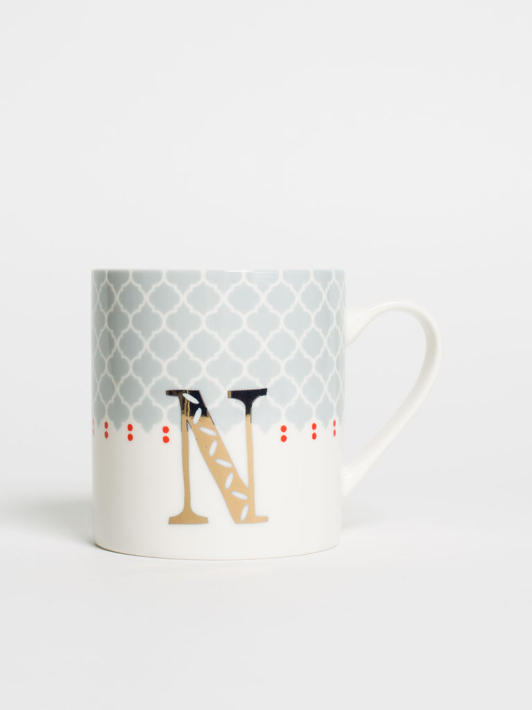 Alphabet Can Mug N - Car & Kitchen