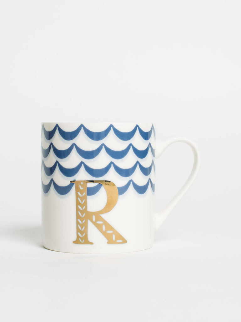 Alphabet Can Mug R - Car & Kitchen