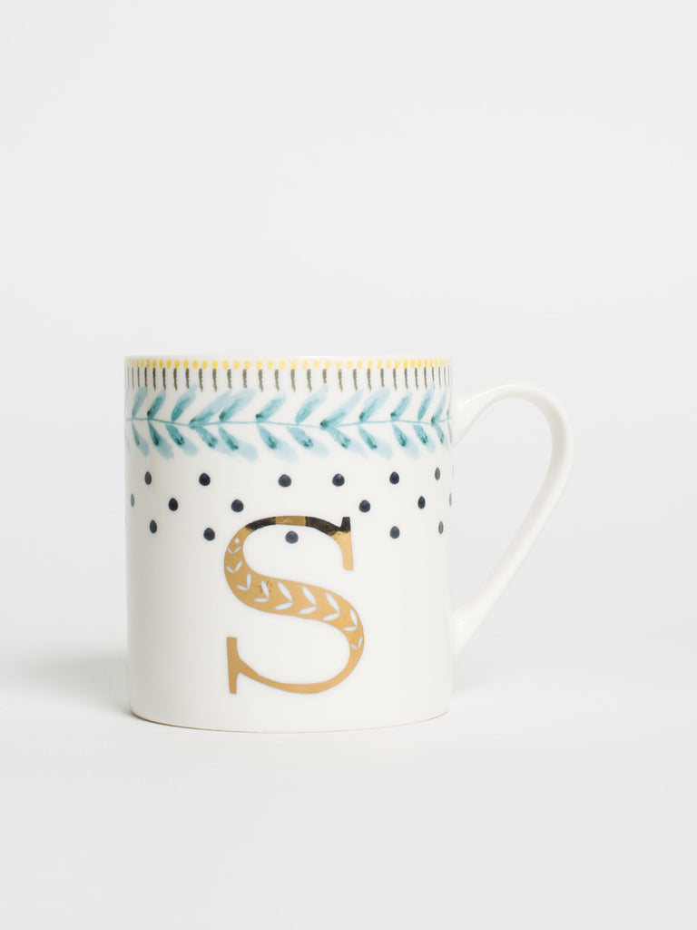 Alphabet Can Mug S - Car & Kitchen