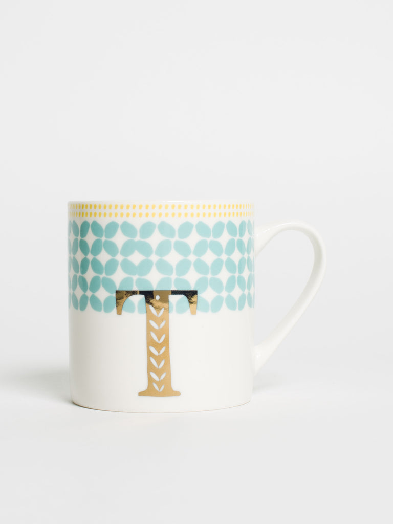 Alphabet Can Mug T - Car & Kitchen