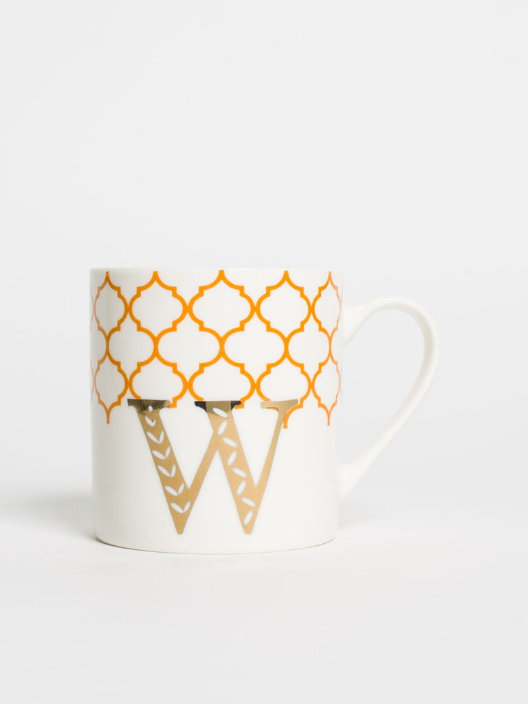 Alphabet Can Mug W - Car & Kitchen