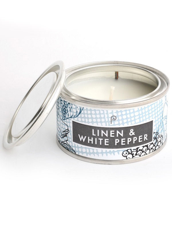 Elements Candle Linen & White Pepper