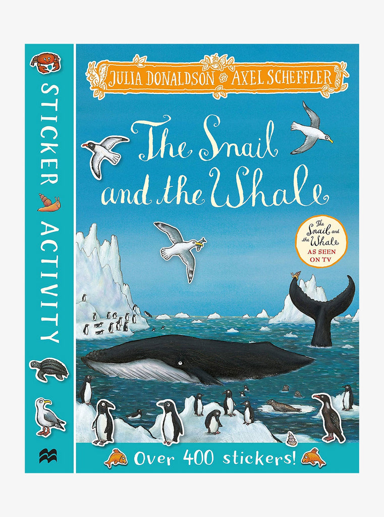 Snail And The Whale Sticker Activity Book
