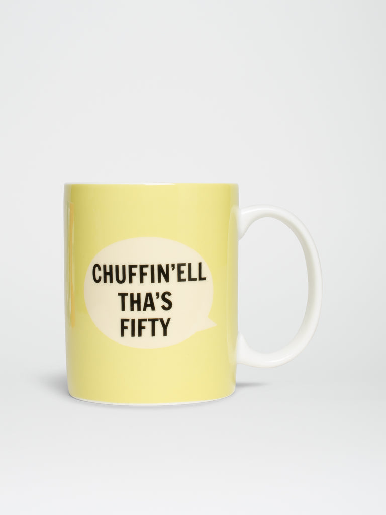 Chuffin'ell Tha's Fifty Mug - Car & Kitchen