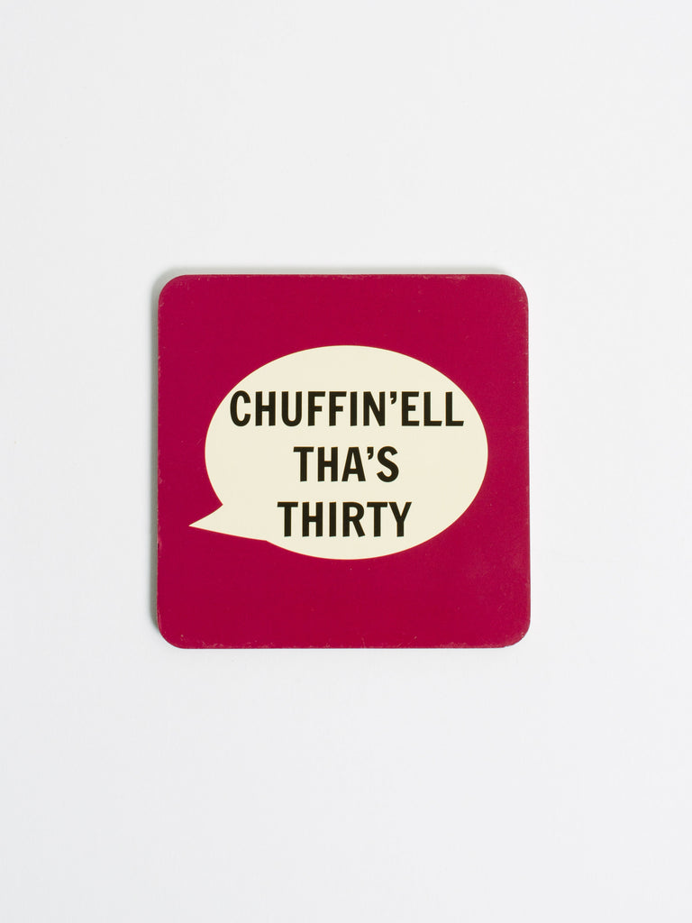 Chuffin'ell Tha's Thirty Coaster - Car & Kitchen