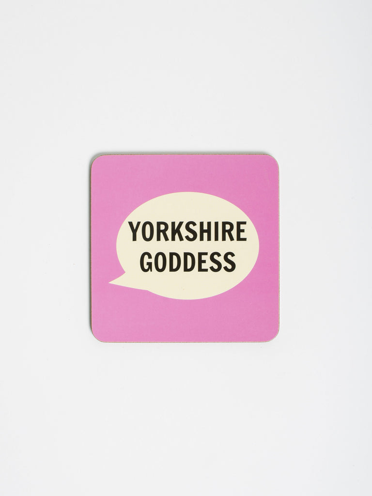 Yorkshire Goddess Coaster - Car & Kitchen