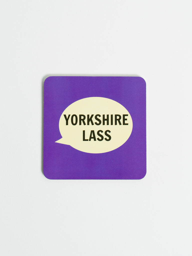 Yorkshire Lass Coaster - Car & Kitchen